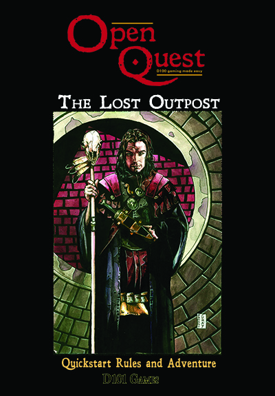 OpenQuest Quickstart Cover by Jonny Gray